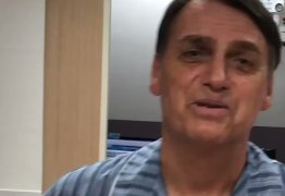 VEJA VÍDEO: 'Até o fim do mês, se Deus quiser, estarei de alta', diz Bolsonaro