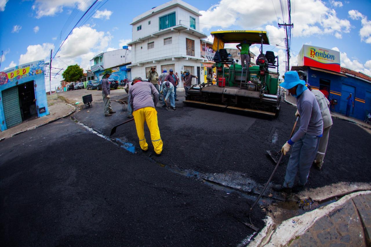 dd860895 2967 400f bec0 a742698d2f5e - Bairros de Santa Rita recebem obras de pavimentação