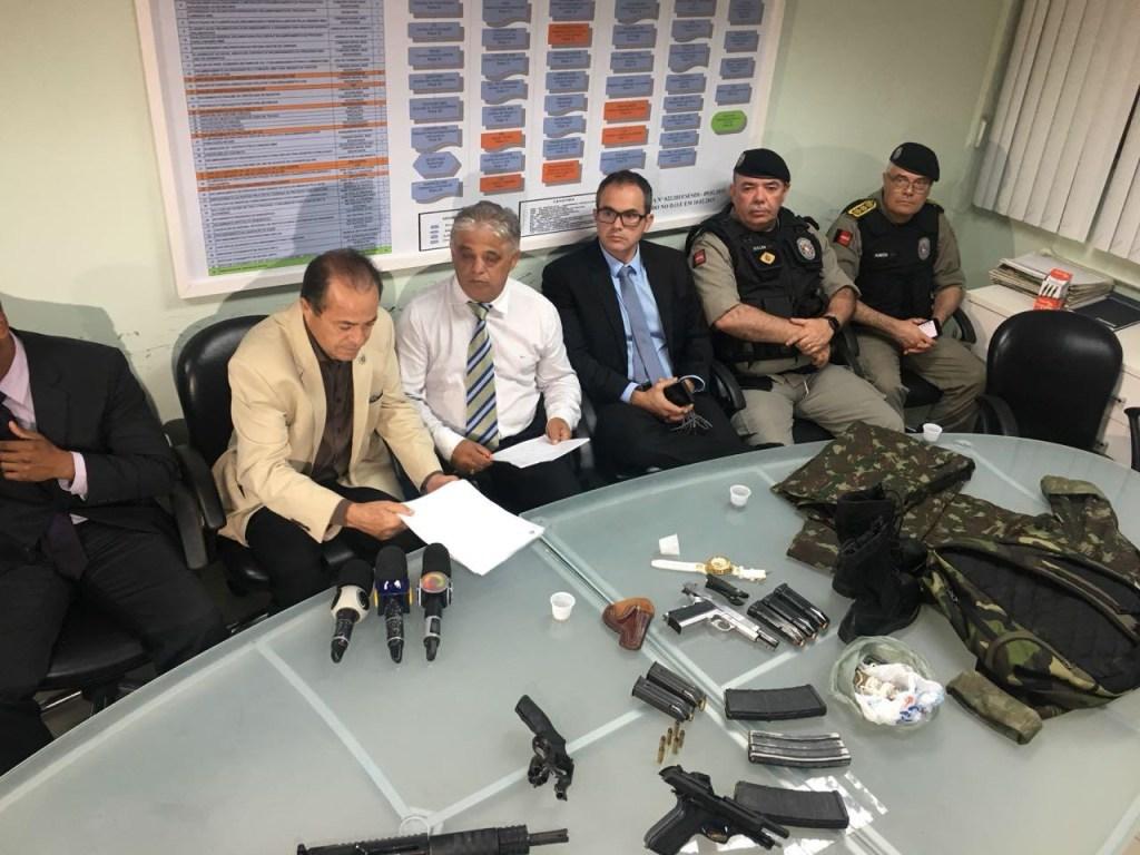 entrevista coletiva ssp 1024x768 - Secretário afirma que mais de 50% dos fugitivos do PB1 já foram recapturados pela polícia