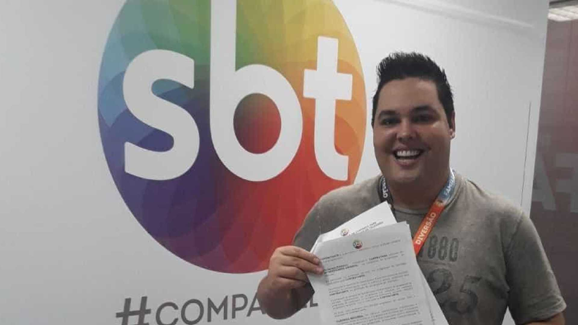 everton luiz di souza repórter sbt - Repórter do SBT processa Pr. Valdomiro Santiago e pede R$ 48 milhões