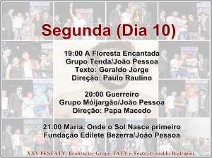 festaty5 300x224 - XXV FESTATY: Festival de teatro em Santa Rita reune 30 espetáculos e premia melhores destaques