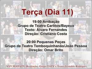 festaty6 300x224 - XXV FESTATY: Festival de teatro em Santa Rita reune 30 espetáculos e premia melhores destaques