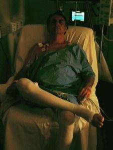 foto tratada bolsonaro 225x300 - Bolsonaro publica em rede social 1º foto após cirurgia em hospital de SP