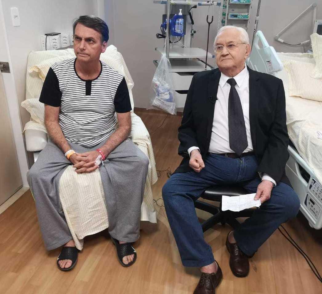 jair bolsonaro - Jair Bolsonaro critica Mourão e afirma que será eleito no primeiro turno