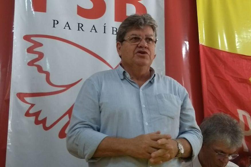joao azevedo   walla santos - João mantém Gilberto Carneiro na equipe e divulgará restante do secretariado nesta sexta-feira