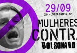 Mais de 500 mil mulheres confirmam presença no ato público contra Bolsonaro em São Paulo