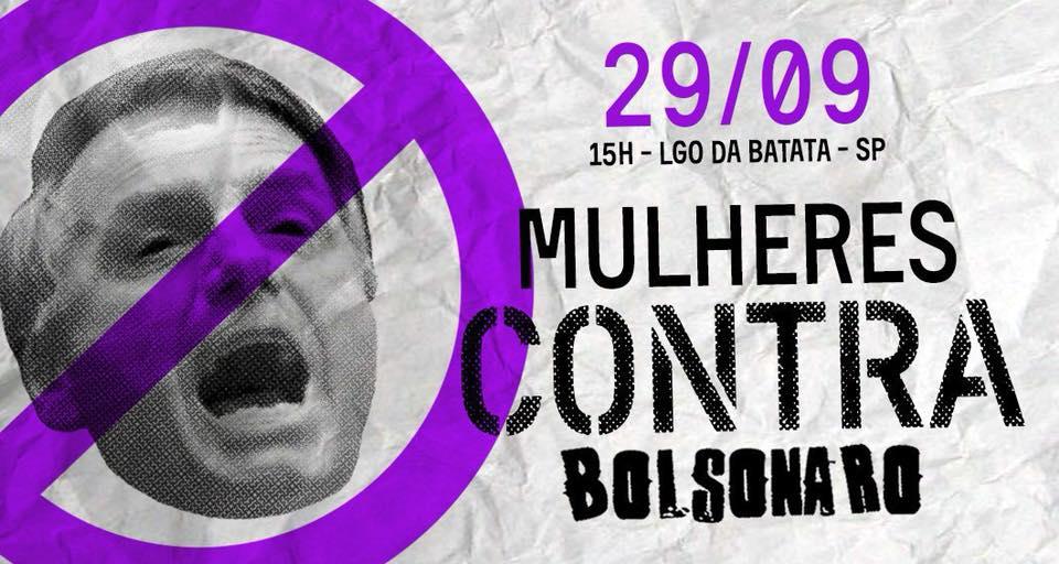 mulheresbolsaa - Mais de 500 mil mulheres confirmam presença no ato público contra Bolsonaro em São Paulo