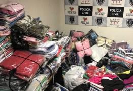 OPERAÇÃO RÉPLICA: empresários chineses são presos com 3 mil peças de mercadorias falsificadas