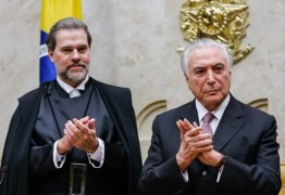 Toffoli assumirá a Presidência da República na próxima semana