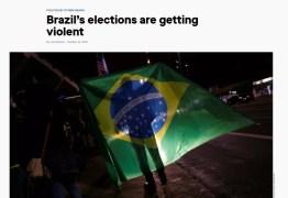 Imprensa estrangeira destaca aumento da violência política no Brasil