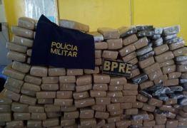 CHEIRO FORTE ALERTOU POLÍCIA: Paraibano é preso com quase 200kg de maconha a caminho de Uiraúna