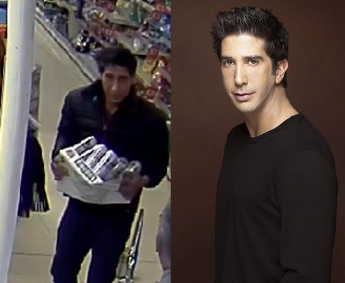 """24755494 - Polícia procura assaltante parecido com Ross de """"Friends"""" e post viraliza"""
