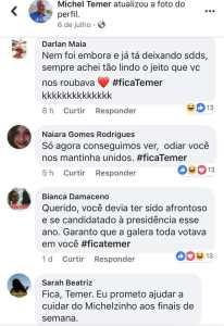5 206x300 - Eleitores pedem 'fica Temer' e perfil do presidente viraliza; veja