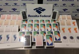 Receita Federal apreende 51 iPhones com passageiro no aeroporto do Recife