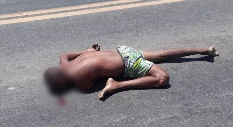 Acidente em São Gonçalo  vitima fatal 1 - TRAGÉDIA: Acidente envolvendo caminhão deixa uma pessoa morta na BR-230