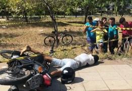 Assaltante ameaça policial, é baleado e morre, na capital