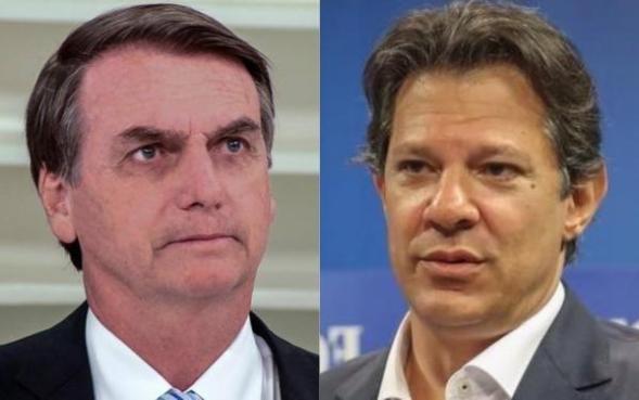 Bolsonaro haddad 300x188 - CBN alega dificuldades técnicas para realizar debate por telefone entre Haddad e Bolsonaro