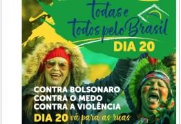 PT convoca eleitores para atos em todos os estados do Brasil
