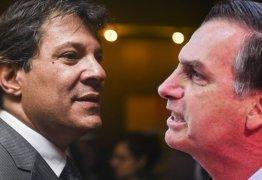 "Ofendido por Bolsonaro Haddad rebate ""do nível do candidato"""