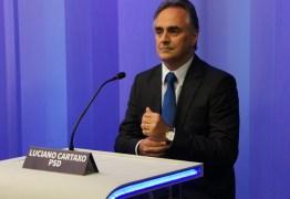 Luciano Cartaxo emite nota de pesar pelo falecimento de Hildebrando de Souza, irmão do chefe de gabinete da prefeitura de João Pessoa