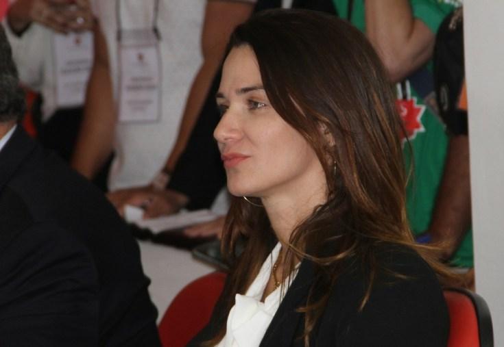 Micheke Ramalho 300x207 - A convite da CBF, Michelle Ramalho viaja para acompanhar a decisão da Copa do Brasil