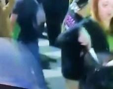 VEJA VÍDEO: PF identifica mulher com faca na festa de Bolsonaro