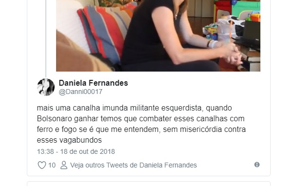 Untitled45r - Jornalista que fez matéria de denúncia contra Bolsonaro é alvo de ataques