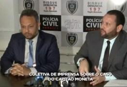 Polícia conclui que arma que matou capitão Moneta é do diretor da Acadepol – VEJA VÍDEO