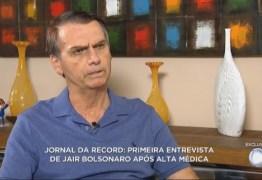 Em paralelo ao debate da TV Globo, Bolsonaro concede entrevista à TV Record – VEJA VÍDEO!