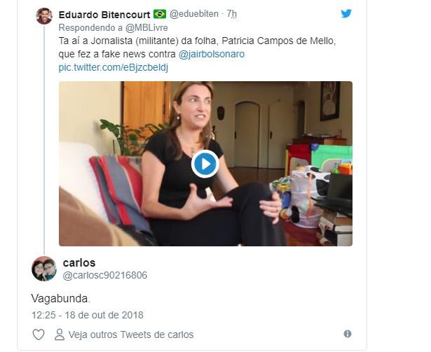 Untitledtyh - Jornalista que fez matéria de denúncia contra Bolsonaro é alvo de ataques