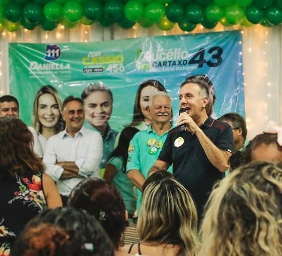 WhatsApp Image 2018 10 02 at 9.51.59 AM - Em João Pessoa, vereadores Marco Antônio e Benilton Lucena abraçam reeleição de Aguinaldo Ribeiro