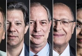 PESQUISA IBOPE: Bolsonaro, 32%; Haddad, 23%; Ciro, 10%; Alckmin, 7%; Marina, 4%