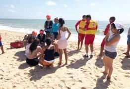 Homem morre afogado na praia de Gramame em João Pessoa