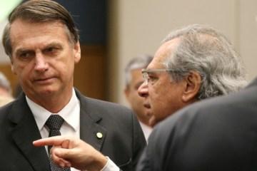 bolsonaroeguedes - Bolsonaro e equipe econômica se reúnem neste domingo para discutir liberação do FGTS