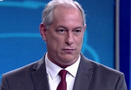 'Nunca mais piso nesse lugar', diz Ciro Gomes sobre a Globo
