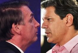 PESQUISA IBOPE NA CIDADE DE SP: Haddad ultrapassa Bolsonaro e vai a 51%
