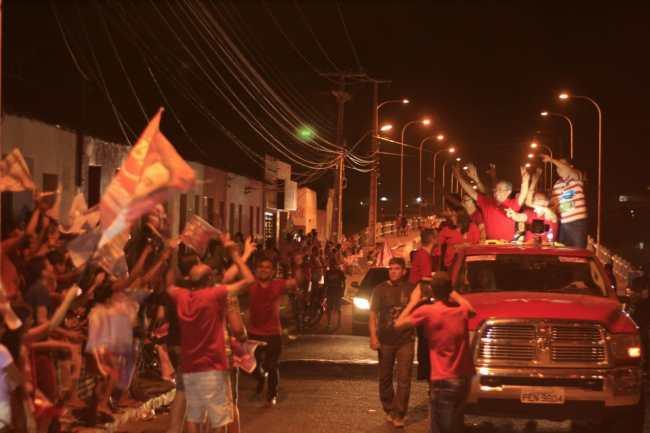 carreata patos 300x200 - Em Patos Zé Maranhão movimenta grande carreata