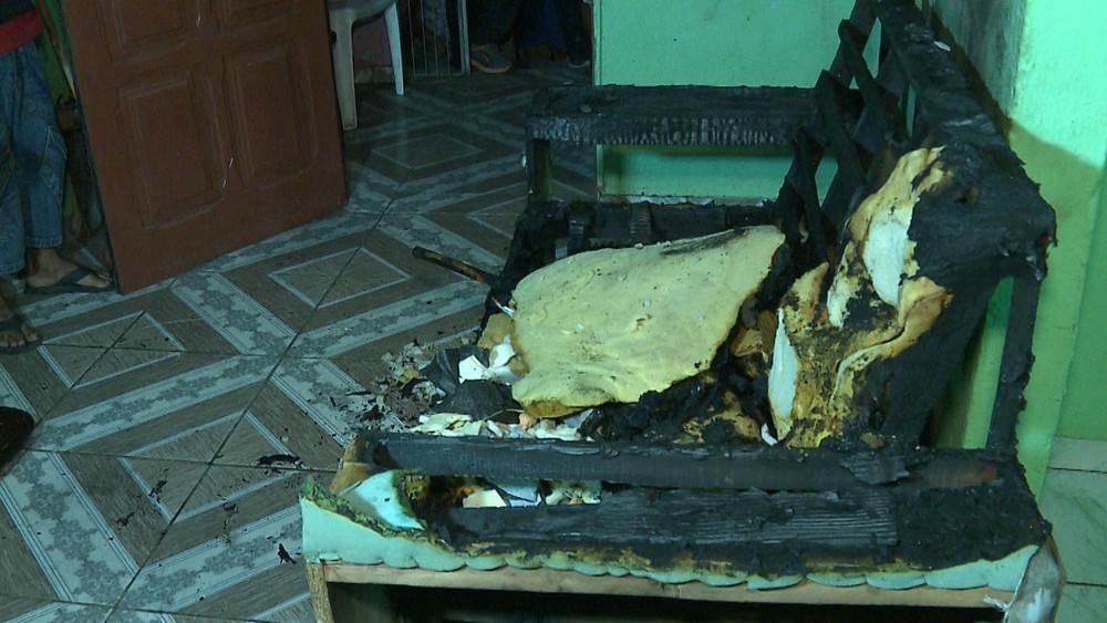 caso massaranduba - Idosa morre carbonizada em incêndio provocado por cachimbo, em Massaranduba