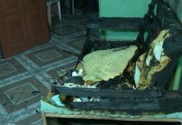 Idosa morre carbonizada em incêndio provocado por cachimbo, em Massaranduba