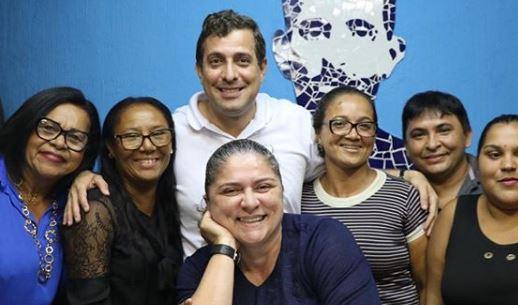 deputado gervasio maia - Gervásio Maia volta a Sapé e, ao lado de aliados, agradece apoio da população que o consagrou deputado federal mais votado