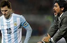 Maradona ataca Messi: 'é inútil tentar transformar em líder'