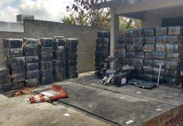 Polícia Militar apreende mais de 2 toneladas de droga em casa no Litoral da Paraíba