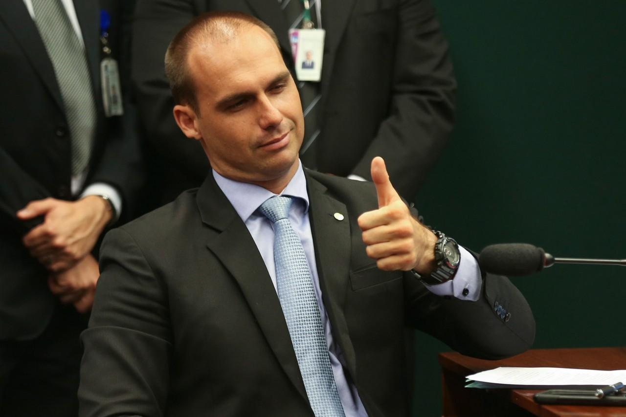 eduardo bolsonaro 20170607 001 - STF rejeita pedido para suspender indicação de Eduardo Bolsonaro para embaixada