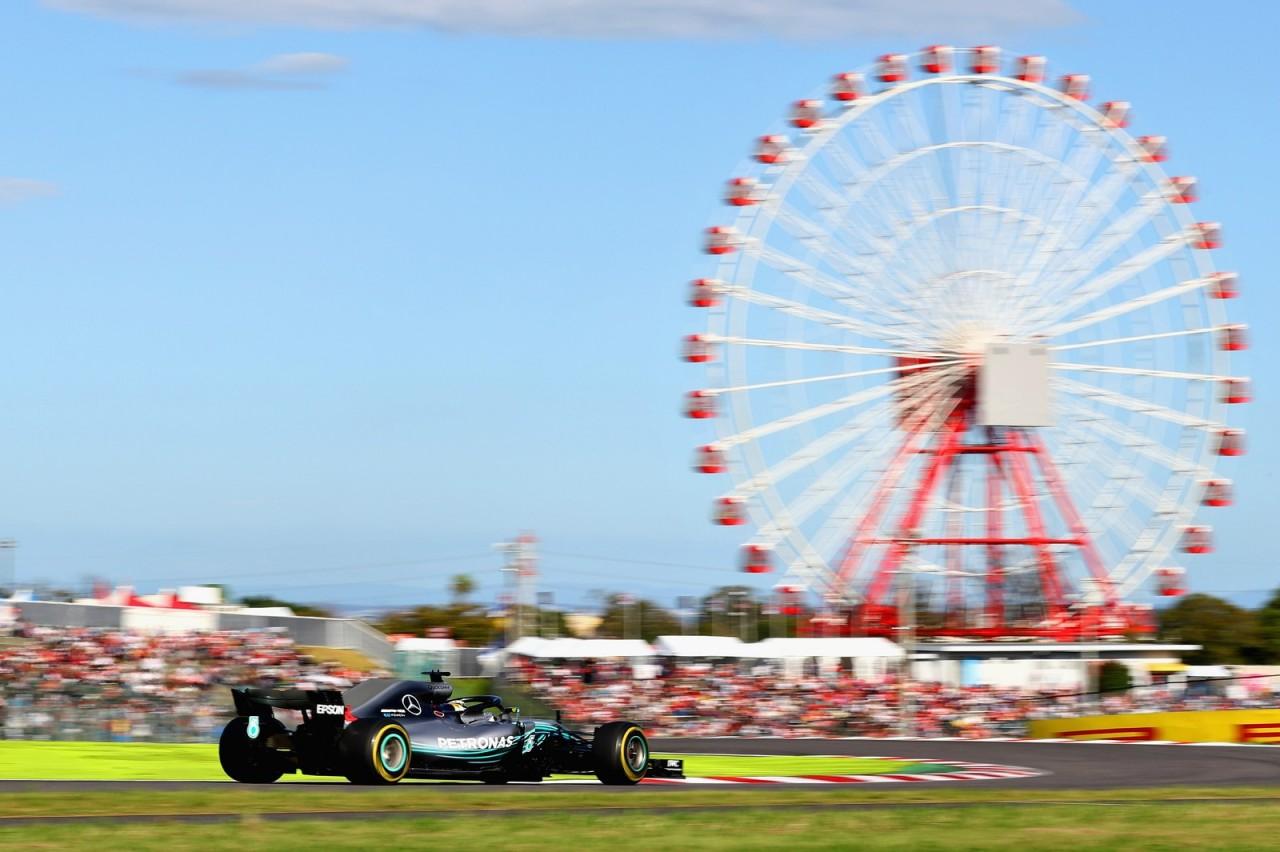 Hamilton vence no Japão e pode ser pentacampeão já nos EUA