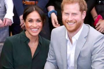 Meghan Markle está grávida do primeiro filho do príncipe Harry