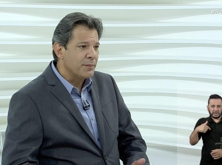 haddad 8 - 'Estou concorrendo com uma pessoa que nunca administrou 1 boteco', diz Haddad