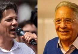 Fernando Henrique afirma sofrer pressão do PSDB para não apoiar Haddad