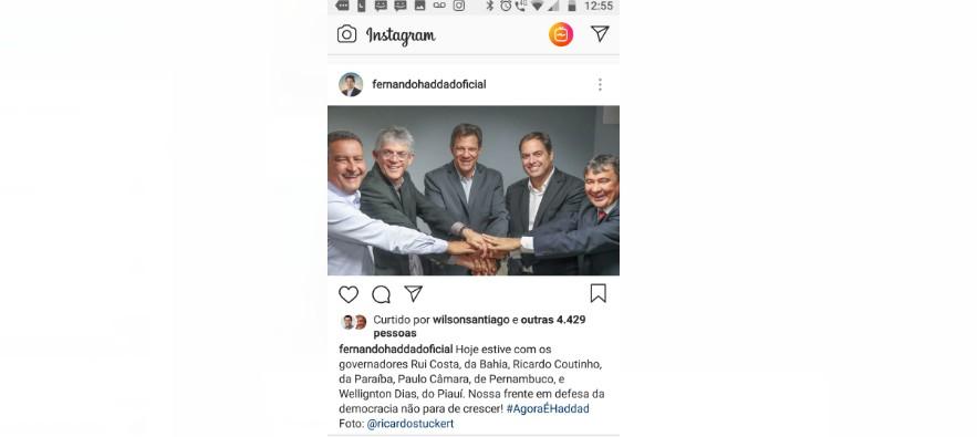 haddad rc - 'ULTRAPASSAR O ÓDIO' Ricardo convoca militância após encontro com Haddad