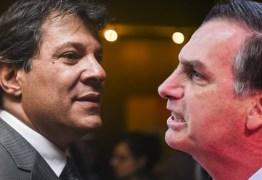 Datafolha: Bolsonaro sobe entre mulheres e Haddad fica estagnado na maioria dos segmentos