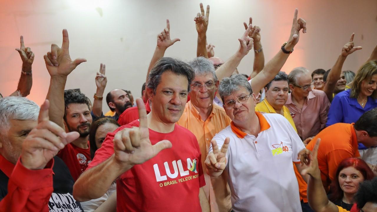 haddadparaiba - Haddad encerra campanha no Recife e deve visitar João Pessoa, na quinta-feira
